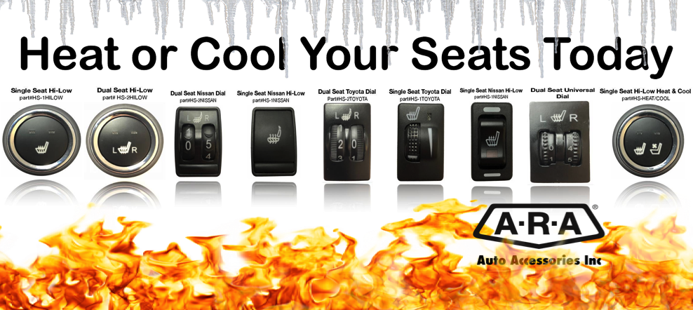You can have heated seats installed into your vehicle today!