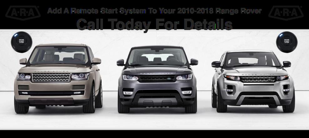 Range Rover Remote Starters